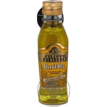 Масло оливковое Filippo Berio с/б 250мл