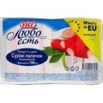 Палочки сурими VICI Любо есть  замороженные 100г