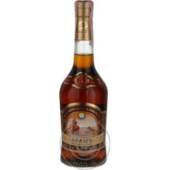 Cognac 40% 500ml glass bottle
