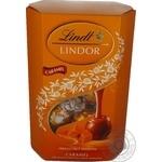 Конфеты Lindt Lindor из молоч шокол карамель начин 200г