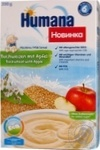 Каша молочна Humanaгечана з яблук 200г