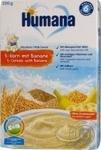 Каша молочна Humana 5 Злаків банан 200г
