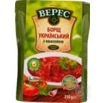 Borsch Veres Ukrainian beans canned 250g