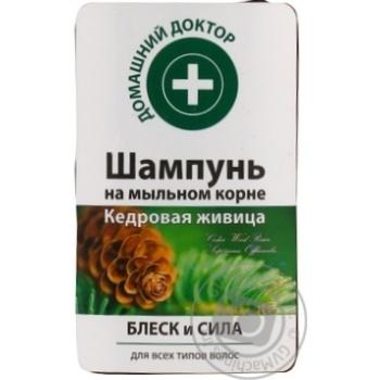 Шампунь Домашний доктор Кедровая живица блеск/сила 300мл