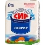 Cottage cheese Bilocerkivskiy sour milk 200g