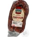 Колбаса Закарпатські ковбаси Пикница с/к в/с кг