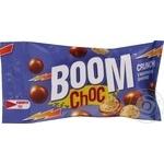 Драже Boom Choc рисовые шарики в молочном шоколаде 30г