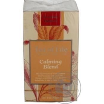 Чай Ти оф лайф травяной пакетированный 25шт 37.5г