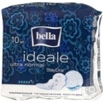 Прокладки Bella Ideale Ultra Normal гигиенические ультратонкие 5 капелек 10шт