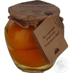 Fruit peach Taverna in syrup 580ml glass jar