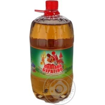 Напиток сильногазированный Полтавпиво Буратино 1,5л - купить, цены на МегаМаркет - фото 1