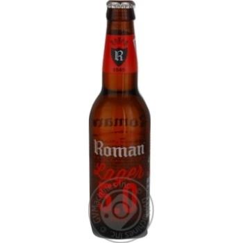 Пиво Roman светлое 0,33л