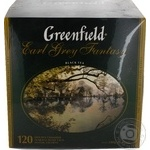 Greenfield Earl Grey Fantasy black tea 120pcs
