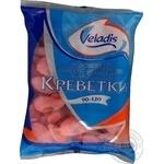Креветки Veladis неразобранные варено-мороженые глазированные 90-120 1кг