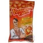 Арахис Козацька слава в хрустящей оболочке жареный соленый со вкусом барбекю 55г