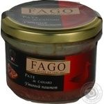 Pate Fago duck canned 180g glass jar