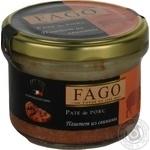 Pate Fago pork canned 180g glass jar