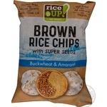 Чипсы рисовые Rice up! с гречкой и амарантом 60г