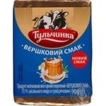 Продукт сырные плавленый Тульчинка сливочный 90г