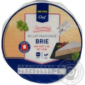 Скидка на Сыр METRO Chef Бри 60% голова от 3кг