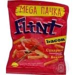 Сухарики Flint пшенично-ржаные со вкусом бекона 110г