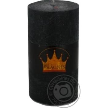 Pragnis Rustick Candle cylinder black