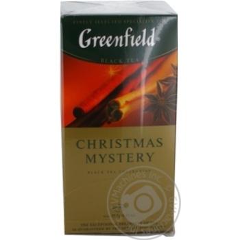 Чай Greenfield черный Christmas Mystery 25шт*1.5г - купить, цены на Метро - фото 5