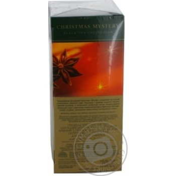 Чай Greenfield черный Christmas Mystery 25шт*1.5г - купить, цены на Метро - фото 2