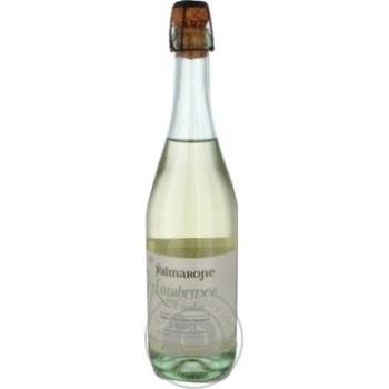 Вино игристое Valmarone Lambrusco белое полусладкое 12% 0,75л - купить, цены на Метро - фото 1
