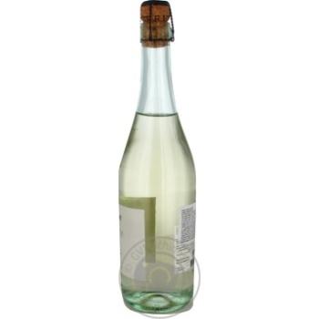 Вино игристое Valmarone Lambrusco белое полусладкое 12% 0,75л - купить, цены на Метро - фото 3