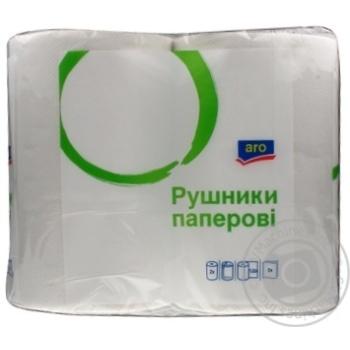 Aro towel paper 2pcs - buy, prices for Metro - image 1