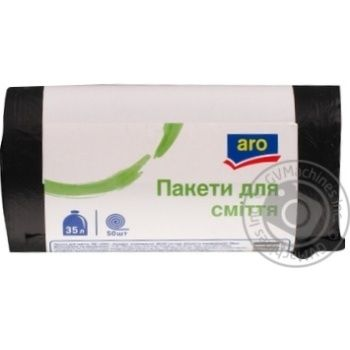 Aro For Garbage Package 35l, 50pcs - buy, prices for Metro - image 1