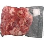 Frozen pork cutlet meat