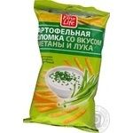 Snack Fine life potato with taste of sour cream salt 100g