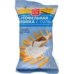 Snack Fine life potato salt salt 100g