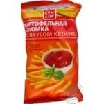 Snack Fine life potato salt 100g