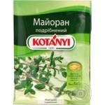 Spices marjoram Kotanyi chopped 5g