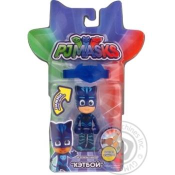 Кетбой фигурка и браслет светящийся PJ Masks