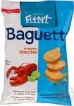 Сухарики Flint Baguette пшеничные со вкусом лобстера 60г