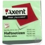 Блок бумаги Axent 100лист 75x75мм