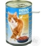 Reno for cats canned with poultry food 415g