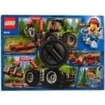 Конструктор Lego Лесоповальный трактор 60181 шт