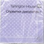 Салфетки бумажные декоративные Tarrington House 33*33 18шт
