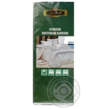 Комплект постельного белья матовый атлас 1,5 - купить, цены на МегаМаркет - фото 1