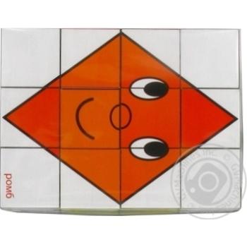 Кубики Геометрические друзья - купить, цены на Novus - фото 3