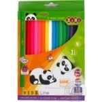 ZiBi Kids Line Color Pencils 18 colors