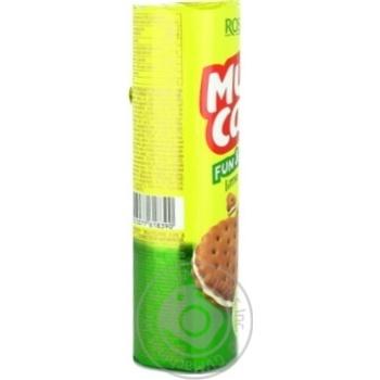 Крекер Roshen Multicake з лаймовою начинкою 135г - купити, ціни на Novus - фото 7