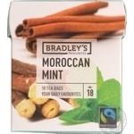 Bradley's Favourites mint black tea 10pcs*1.5g