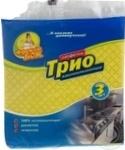 Салфетка для уборки целлюлоза Трио Фрекен Бок 3шт/уп