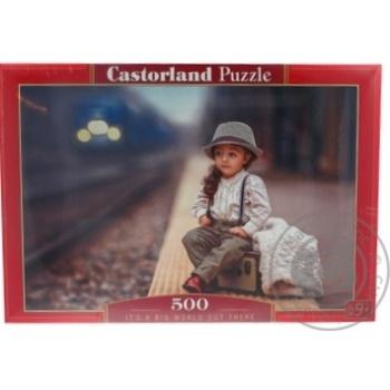 Іграшка-Пазл Castorland 500 тварини - купити, ціни на Ашан - фото 4